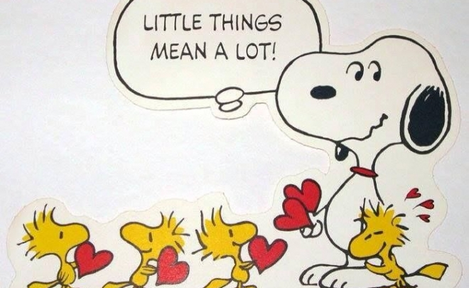 Little-things-mean-a-lot-snoopy