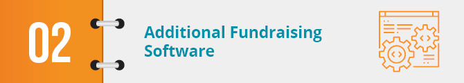 Additional Fundraising Software